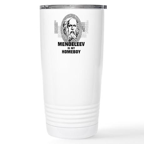 Mendeleev Is My Homeboy Travel Mug