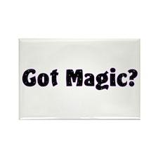 Got Magic? Bright Stars on Black Rectangle Magnet