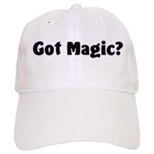 Got Magic? Bright Stars on Black Baseball Cap