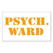 Psych. Ward Decal