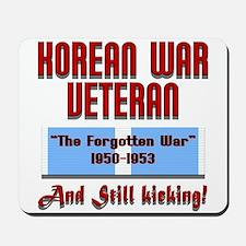 Korean War Veteran Mousepad