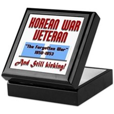 Korean War Veteran Keepsake Box