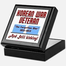 Korean War Veteran Keepsake Box