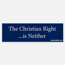 Bumper Sticker: Christian Right