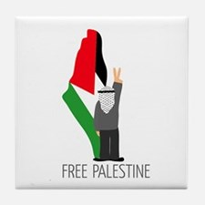 www.palestine-shirts.com Tile Coaster
