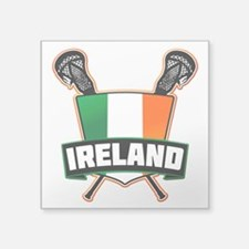 Ireland Irish Lacrosse Team Logo Sticker