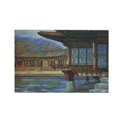 Japanese Arbor Rectangle Magnets (10 pack)
