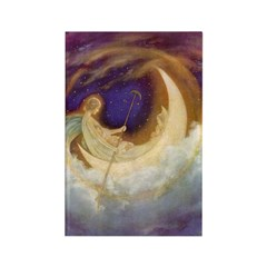 Moon Boat Vertical Magnets (10 pack)