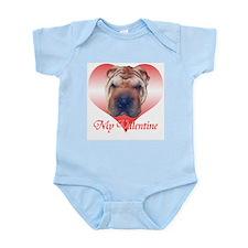 Shar-Pei Valentine Infant Bodysuit