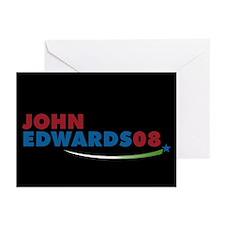 JOHN EDWARDS PRESIDENT 2008 Greeting Cards (Packag