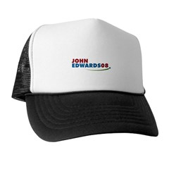 JOHN EDWARDS PRESIDENT 2008 Trucker Hat