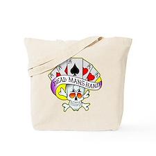 Dead Mans Hand Tattoo Tote Bag
