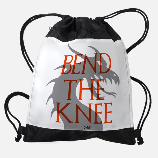 Bend The Knee Game Of Thrones Drawstring Bag