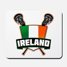 Ireland Irish Lacrosse Team Logo Mousepad