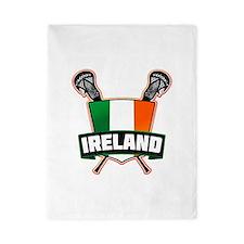 Ireland Irish Lacrosse Team Logo Twin Duvet