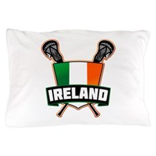 Ireland Irish Lacrosse Team Logo Pillow Case