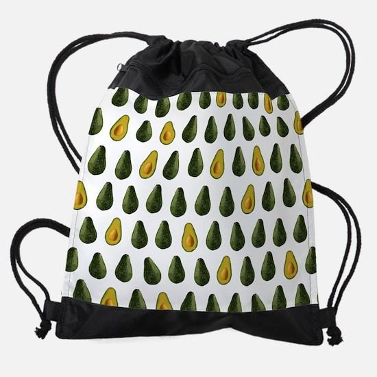 Avocado Pattern Drawstring Bag
