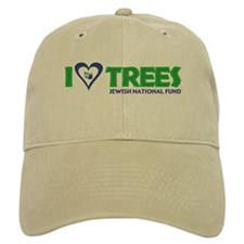 I Love Trees Baseball Cap