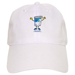 Blue Box Bob Baseball Cap