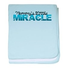 Mommys Little Miracle baby blanket