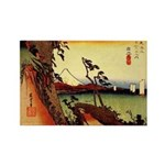 Hiroshige Rectangle Magnets (10 pack)