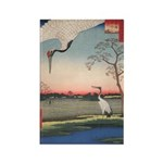 Japanese Cranes Vertical Magnets (10 pack)