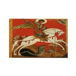 St. George Slaying the Dragon Magnets (10 pack)