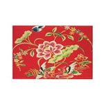 Chinese Floral Rectangle Magnets (10 pack)