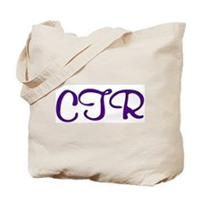 CTR (purple script) Tote Bag