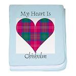 Heart - Chisholm baby blanket