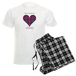 Heart - Chisholm Men's Light Pajamas