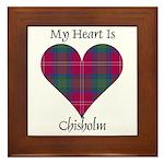 Heart - Chisholm Framed Tile