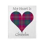 Heart - Chisholm Throw Blanket