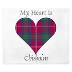 Heart - Chisholm King Duvet