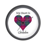 Heart - Chisholm Wall Clock