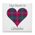 Heart - Chisholm Tile Coaster