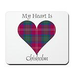 Heart - Chisholm Mousepad