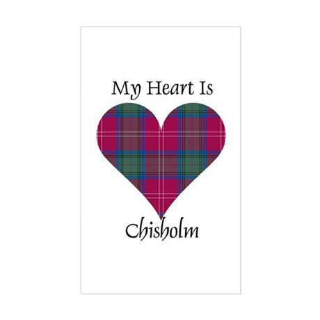 Heart - Chisholm Sticker (Rectangle)