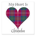 Heart - Chisholm Square Car Magnet 3