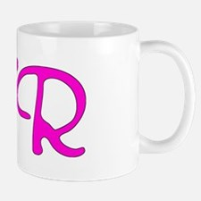 CTR (hot pink script) Small Mugs