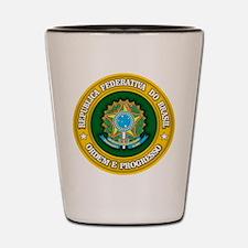 Brazil Medallion Shot Glass