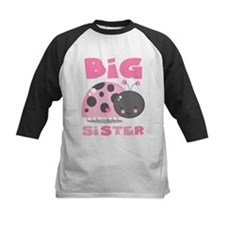 Pink Ladybug Big Sister Tee