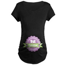 1st Easter Holiday Label Maternity T-Shirt
