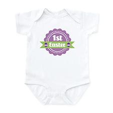1st Easter Label for baby Infant Bodysuit