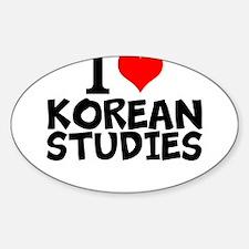 I Love Korean Studies Decal