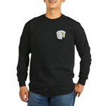 The Cake Icon Long Sleeve Dark T-Shirt