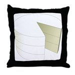 The Cake Icon Throw Pillow