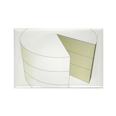 The Cake Icon Rectangle Magnet (100 pack)