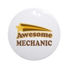 Awesome Mechanic Ornament (Round)