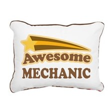 Awesome Mechanic Rectangular Canvas Pillow